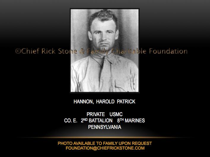 Hannon, Harold Patrick