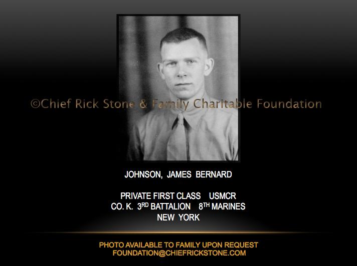 Johnson, James Bernard