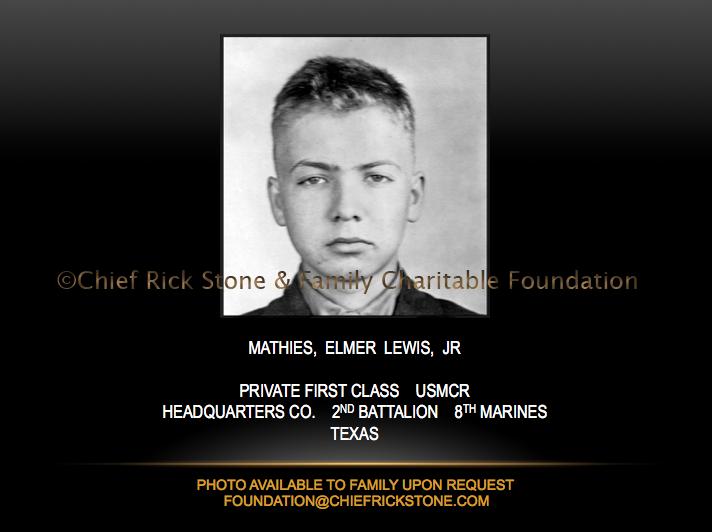 Mathies, Elmer Lewis, Jr