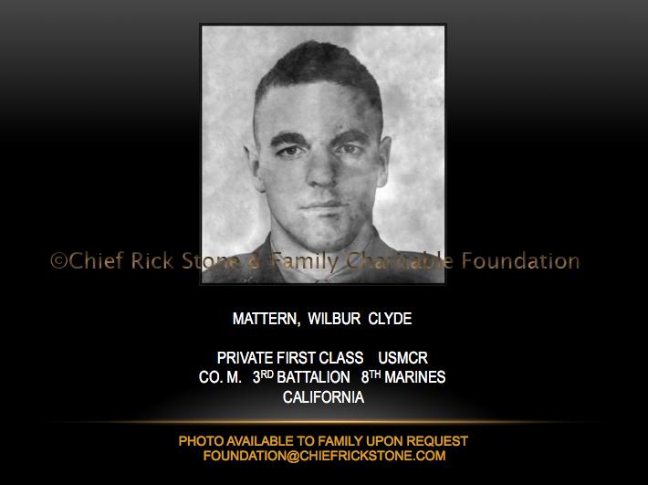 Mattern, Wilbur Clyde