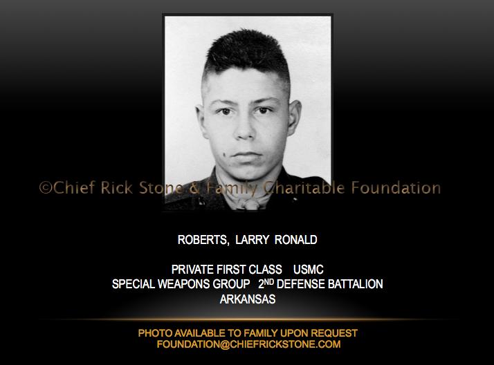 Roberts, Larry Ronald