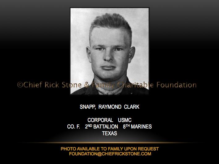 Snapp, Raymond Clark