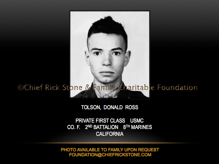 Tolson, Donald Ross