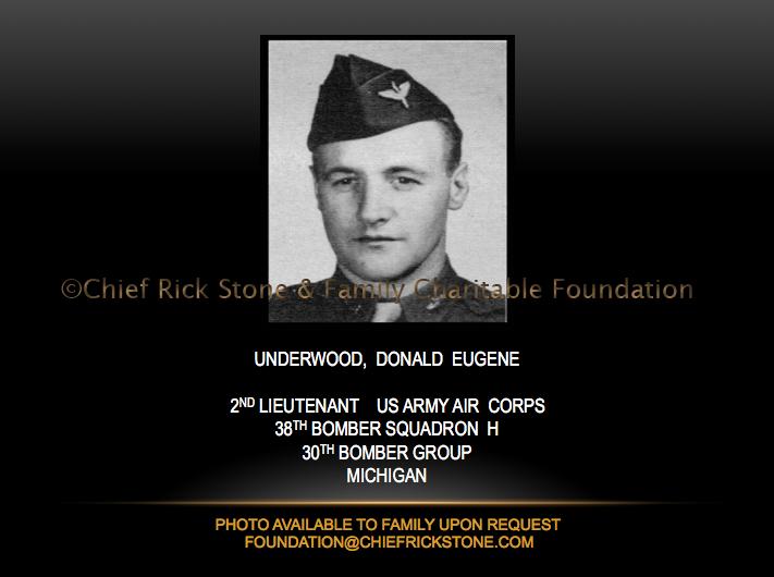 Underwood, Donald Eugene