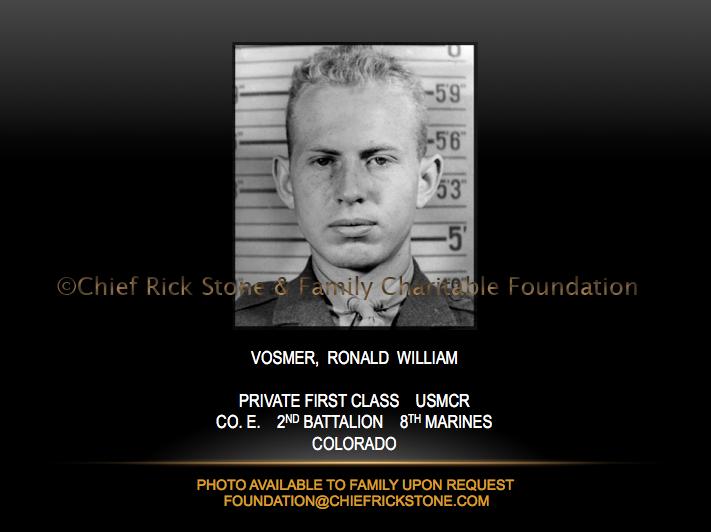 Vosmer, Ronald William